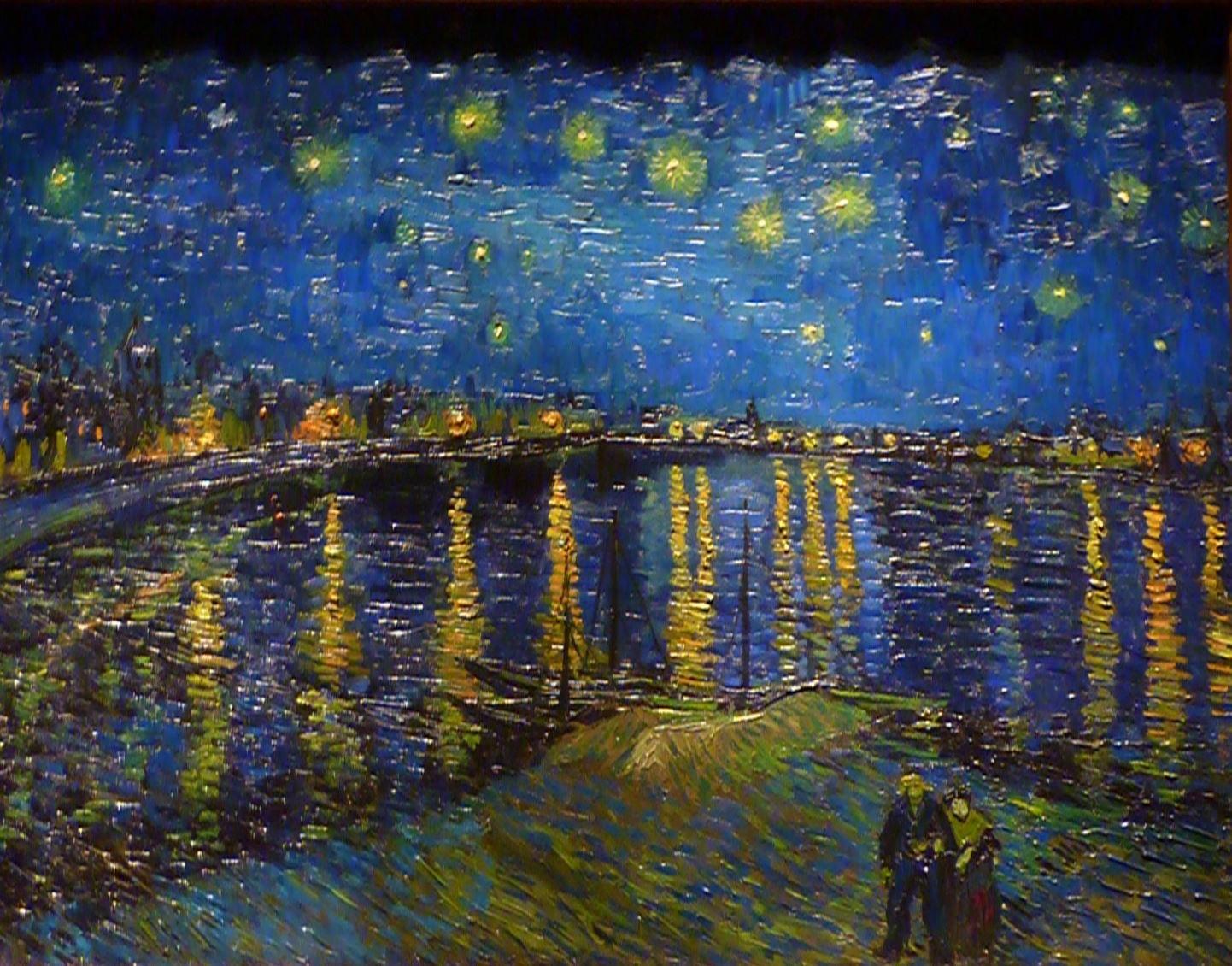 "Vincent Van Gogh's ""Starry Night Over the Rhone"""